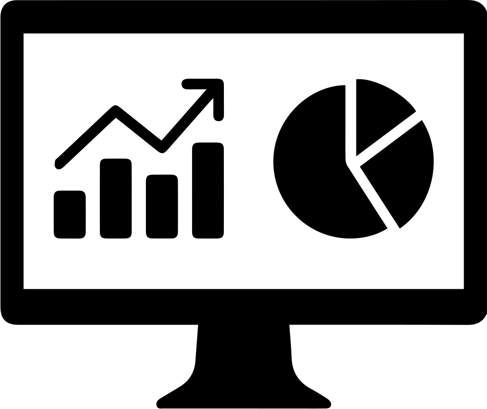 Иконка анализа рынка